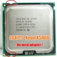 Wholesale Para Intel Xeon X5460 xeon Processador GHz MB MHz perto de obras em LGA775 q9650 cpu mainboard sem necessidade adaptador