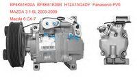 Wholesale Panasonic car compressor fit Mazda H12A1AF4DW BP4K61K00A H12A1AG4DY