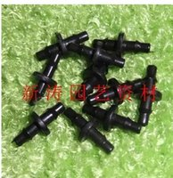 Wholesale garden connector double barb joint spray micro pipette connected through joint greenhouse capillary repair joint