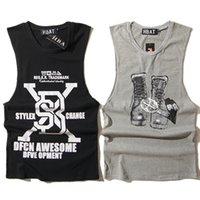 active codes - 2016 New York Sport gym Tank Top Men Hip Hop Brand Letter Print Youth Codes Vest Men Cotton Loose Casual gymshark stringer Vest