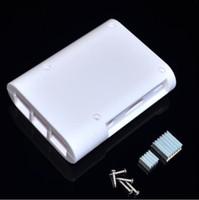 Wholesale Raspberry Pi B amp Raspberry Pi Box Case Shell Raspberry Pi B Acrylic Shell Latest Box White Color