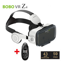 Wholesale DHL BOBOVR Xiaozhai Z4 D VR Glasses D Virtual Reality Glasses Binocular Immersive D Movie Video with headphone Bluetooth Controller