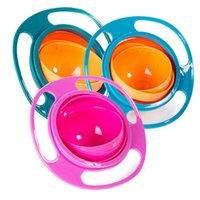 Wholesale High Quality UFO Bowel Universal Baby Boys Girls Dishes and Bowls Rotate Spill Proof Children Kids Balance Feeding Bowl