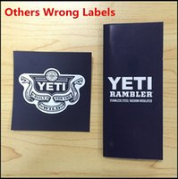 Wholesale YETI oz Cups Cooler Rambler Tumbler Travel Vehicle Beer Mug Double Wall Bilayer Vacuum Insulated UPS Shipping