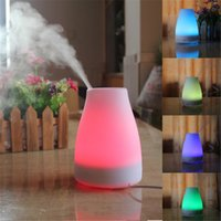 best evaporative humidifier - 20PCS BEST ML LED Light Color Change Dry Protect Ultrasonic Essential Oil Aroma Diffuser Air Humidifier Mist Maker for Home Office
