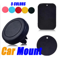Wholesale Phone holder Car Air Vent Magnetic Universal Car Mount Phone Holder for iPhone s One Step Mounting Reinforced Magnet
