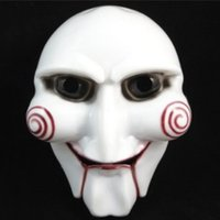 Wholesale One Piece Horrific Shape PVC Halloween Party Mask