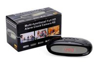 Wholesale R8 spy Camera Full HD P H Multi functional Alarm Clock spy Camera hidden very very small hidden camera
