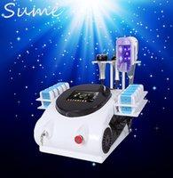 Wholesale New technology nm Lipo Laser Slimming Body shaping cavitation Fast Fat Burning rf Machine cryolipolysis lipo laser zeltiq cryolipolysis