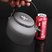 aluminum coffee kettle - Alocs CW K02 L Aluminum Alloy Outdoor Teapot Kettle Coffee Pot Camping Equipment Cookware Portable Camp Cooker