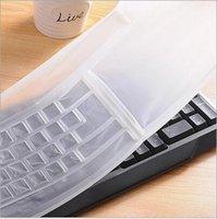 Wholesale Silicon Keyboard Cover Laptop Skin teclado PC Keyboard cover skin Universal PC Computer Desktop General Keyboard Skin Protector Cover