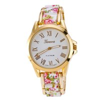 alphabet fabric - Woman casual fashion quartz watch strap made of cloth and metal dial on both sides of the Greek alphabet represents time