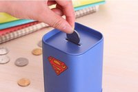 batman money bank - Guaranteed SHIELD batman money box itazura coin bank kids money bank piggy bank money superman money box