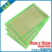 Wholesale 2pcs x15 cm Single Side Tinned Prototype PCB Universal Board Experiment Matrix Circuit Board mm