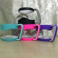 Wholesale Bigest Discount Colors oz Cup Handle Fits for oz Yeti Tumbler Rambler oz RTIC Tumbler Cups SIC Cups