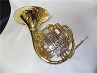 Wholesale New Arrival Triple Horn with Six Valves Detached Bell With Fiberglass case Musical instruments