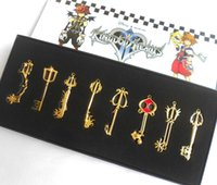 arsenal accessories - Kingdom Hearts Necklace Heart Keychain arsenal necklace keychain toy gifts Kingdom series
