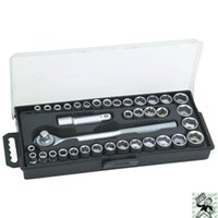 Wholesale 40 Piece SAE and Metric quot and quot Drive Socket Set quot Ratchet Wrench Tool