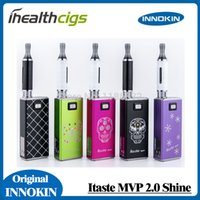 Cheap Wholesale-100% original Innokin iTaste MVP 2.0 Shine starter kit huge wapor iclear 16b Atomizer Innokin e cigs ihealthcigs 5pcs