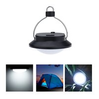 Wholesale 60 LED Outdoor Indoor Camping Lamp with Lampshade Circle Tent White Light Campsite Hanging Lamp H11102