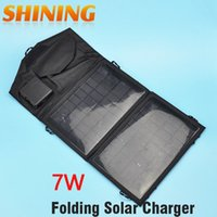 Wholesale Foldable Camping V W Solar Panel Power Outdoor Power Cell Charger for Mobile Phone Smartphones Digital Camera Power Bank