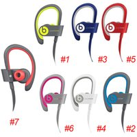 Wholesale Gift Used Beats powerbeats wireless Active collection headphone noise Cancel Headphones Bluetooth Headset Refurbished with seal retail box