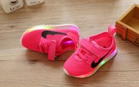Wholesale 2016fashion New LED lighted kids sneakers Lovely Cool high quality children shoes comfortable baby boys girls shoes
