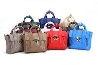 Wholesale 100 genuine leather bag women s messenger bags colors fashion handbag high quality shoulder bag new design tote bags