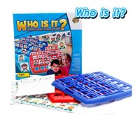 baby intellectual development - Who is it intellectual development game toys New board game Educational game baby toys parent kid interaction toys