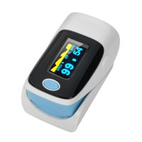 Wholesale Health care SH D1 CE FDA LED Display Portable Finger Pulse Oximeter Blood Oxygen SpO2 Saturation Oximetro Monitor with case