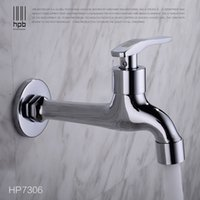 Wholesale Han Pai Brass Garden Faucet Decorative Outdoor Faucets Tap Bibcock Laundry Utility Faucets Robinet torneira HP7306