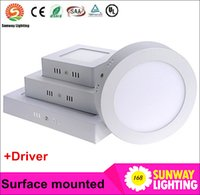 bathroom promotions - Promotion Sale Surface mounted led downlight Dimmable panel light SMD2835 Ultra thin circle ceiling kitchen Bathroom