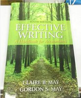 b magazine - Effective Writing A Handbook for Accountants th Edition by Claire B May Author Gordon S May Author free DHL