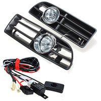 Wholesale High Quality Fog Lights Grille For JETTA BORA MK4 TDI Switch Wiring Harness car lamps lights