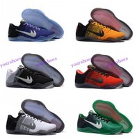 Wholesale Kobe XI Elite Low Basketball Shoes Men Original New Arrival Sneakers Cheap Retro Weaving Kobe Boots Size Eur