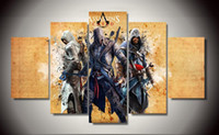 assassin poster - Unframed Printed assassins creed ezio Painting children s room decor print poster picture canvas Unframed
