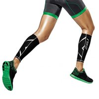 Wholesale new Non Stirrup Compression Training Leg Sleeves Calf Guard True leggings Graduated Compression Boosts Circulation