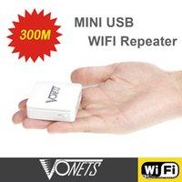 Wholesale Vonets Wireless N Mini WiFi Repeater Wi Fi wi fi Repetidor Mbps USB Port Wireless Network Bridge Signal Booster