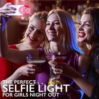 Wholesale Selfie Flash Led lens Photography Ring Light Enhancing for iPhone Samsung Galaxy Blackberry Bold Touch Sony Xperia Motorola Droid