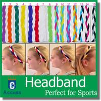 Wholesale 2016 USA Protective headband braided sports headband