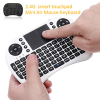 Cheap Rii I8 Smart Fly Air Mouse Remote Backlight 2.4GHz Wireless Bluetooth Keyboard Remote Control Touchpad For Android Box MX3 M8S White Black