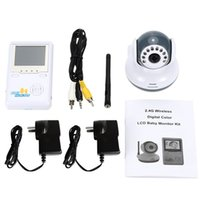 Wholesale 2 inch video babysitter doppler fetal IR Night Vision way Talk Lullaby Zoom CHs Rechargeable Battery detector fetal doppler