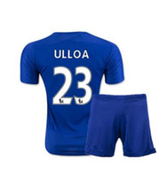 Wholesale 2017 season Leicester City set Soccer Jersey Vardy camisetas Riyad Mahrez season Leicester City Leicester camisas de futebol