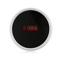 alarm clock module - White Beauty Mirror Multi function LED Digital Perpetual Calendar Alarm Desk Clock clock moving calendar module