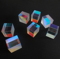 Wholesale X2X1 cm Defective Cross Dichroic X Cube Prism RGB Combiner or Splitter Prism