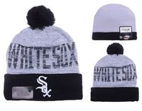 Wholesale Chicago White Sox Beanies hats All Team Sports Beanie Knitted Hats New Design Team Hats Sports Cap Fashion Beanies Women Men Snapback hats