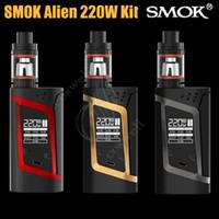 baby silicon - Authentic SMOK Alien W Starter Kit Alien Box MOD whit ml TFV8 Baby Beast Tank V8 Baby Q2 Baby T8 Coil genuine ship Free