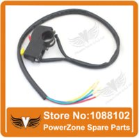 Wholesale Electric start amp Kill Switch Stop switch Fit To Pit Dirt Bike Motorcycle Motocross Scooter