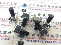 Wholesale horizontal double potentiometer b B50K handle mm long