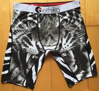 Wholesale New Ethika The Staple Print Men s Boxer Polyester Spandex Many Colors
